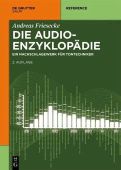 Die Audio-Enzyklopädie (eBook, ePUB) - Friesecke, Andreas