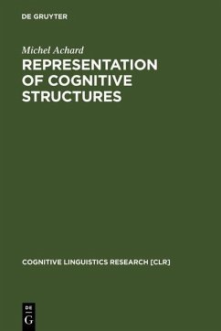 Representation of Cognitive Structures (eBook, PDF) - Achard, Michel