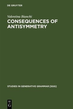 Consequences of Antisymmetry (eBook, PDF) - Bianchi, Valentina