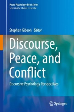 Discourse, Peace, and Conflict