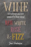 Wine: Everything You Ever Wanted to Know about Red, White, Rosé & Fizz