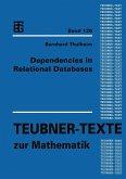 Dependencies in Relational Databases (eBook, PDF)