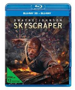 Skyscraper BLU-RAY Box - Dwayne Johnson,Neve Campbell,Chin Han