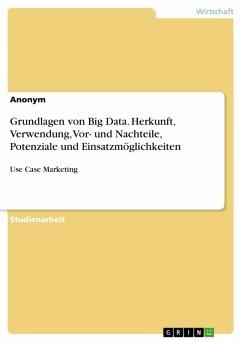 Grundlagen von Big Data. Herkunft, Verwendung, Vor- und Nachteile, Potenziale und Einsatzmöglichkeiten (eBook, PDF)