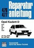 Opel Kadett D (ab Aug. 1979 bis Juli 1981) (Mängelexemplar)