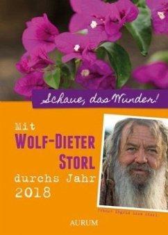 Mit Wolf-Dieter Storl durchs Jahr 2018 (Mängele...