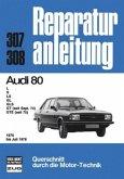 Audi 80 1976 bis 7/1978 (Mängelexemplar)