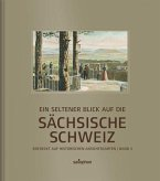 Ein seltener Blick auf die Sächsische Schweiz