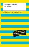 Die Weber. Schauspiel aus den vierziger Jahren. Textausgabe mit Kommentar und Materialien (eBook, ePUB)