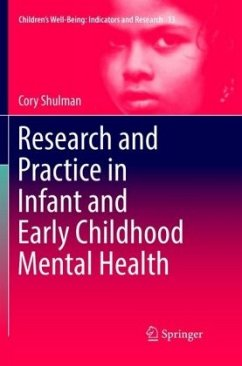 Research and Practice in Infant and Early Childhood Mental Health - Shulman, Cory