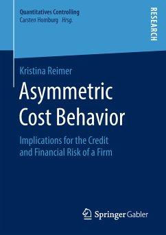 Asymmetric Cost Behavior (eBook, PDF) - Reimer, Kristina