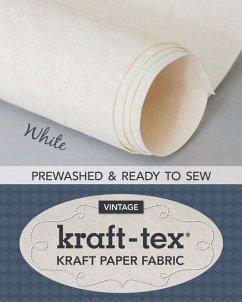 kraft-tex (R) Roll, White Prewashed