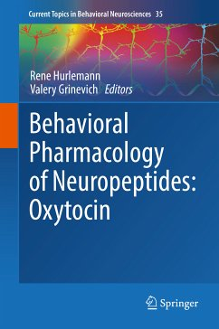 Behavioral Pharmacology of Neuropeptides: Oxytocin (eBook, PDF)
