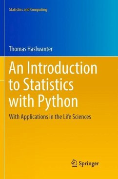 An Introduction to Statistics with Python - Haslwanter, Thomas