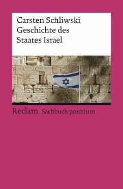 Geschichte des Staates Israel (eBook, ePUB) - Schliwski, Carsten