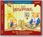 Leo Lausemaus - Der Hör-Adventskalender, 1 Audio-CD