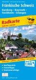 PUBLICPRESS Radkarte Fränkische Schweiz, Bamberg - Bayreuth, Forchheim - Erlangen