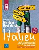 Mit dem Boot durch Italien