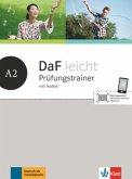 DaF leicht A2. Prüfungstrainer mit Audios