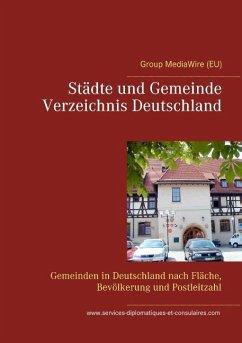 St¿e und Gemeinde Verzeichnis Deutschland