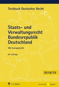 Staats- und Verwaltungsrecht Bundesrepublik Deutschland