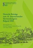 Deutsche Beitra¨ge zum 16. Internationalen Slavistenkongress Belgrad 2018 (eBook, PDF)