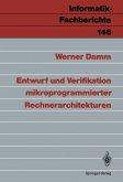 Entwurf und Verifikation mikroprogrammierter Rechnerarchitekturen (eBook, PDF)
