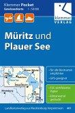 Klemmer Pocket Gewässerkarte Müritz und Plauer See 1:50.000