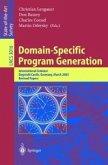 Domain-Specific Program Generation (eBook, PDF)