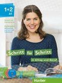 Medienpaket zum Kurs- und Arbeitsbuch, DVD + Audio-CDs / Schritt für Schritt in Alltag und Beruf .1+2