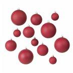 Broste Copenhagen Weihnachtskugel 'Ammos' 12er Set Rot