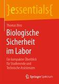 Biologische Sicherheit im Labor (eBook, PDF)