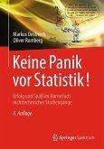 Keine Panik vor Statistik! (eBook, PDF)