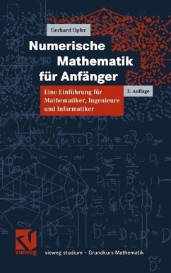 Numerische Mathematik für Anfänger (eBook, PDF) - Opfer, Gerhard