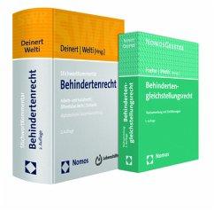 Paket Behindertenrecht, 2 Bde. m. CD-ROM