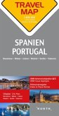 Travelmap Reisekarte Spanien, Portugal 1:800.000; Spain / Portugal
