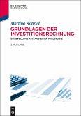 Grundlagen der Investitionsrechnung (eBook, ePUB)