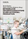 Betriebliche Informationssysteme in der Automobilproduktion (eBook, PDF)