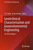 Geotechnical Characterisation and Geoenvironmental Engineering (eBook, PDF)
