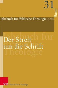 Der Streit um die Schrift (eBook, PDF)