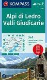 KOMPASS Wanderkarte Alpi di Ledro, Valli Giudicarie