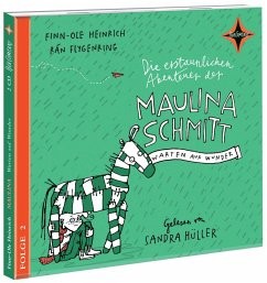 Warten auf Wunder / Die erstaunlichen Abenteuer der Maulina Schmitt Bd.2 (2 Audio-CDs) (Mängelexemplar) - Heinrich, Finn-Ole