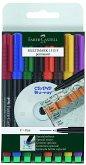 Faber-Castell Marker MULTIMARK 1513 F permanent, 8er Set