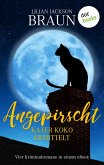 Angepirscht - Kater Koko ermittelt (eBook, ePUB)
