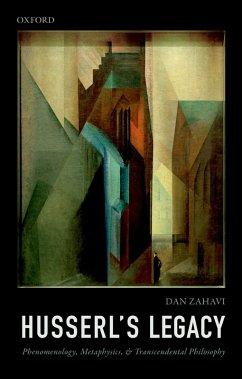 Husserl's Legacy (eBook, ePUB) - Zahavi, Dan