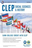 CLEP(R) Social Sciences & History Book + Online, 2nd Ed. (eBook, ePUB)