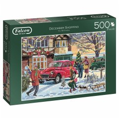 December Shopping - 500 Teile Puzzle