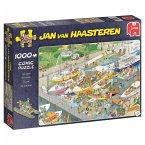Jan van Haasteren - Die Schleuse - 1000 Teile Puzzle