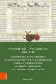 Universität und Landtag (1500-1700) (eBook, PDF)