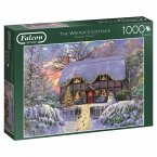 The Writer's Cottage - 1000 Teile Puzzle